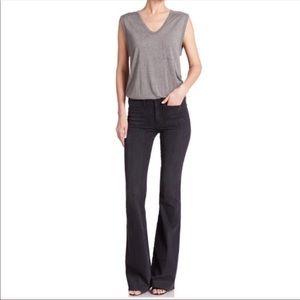 McGuire Inez Patch Pocket Black Jeans Size 27